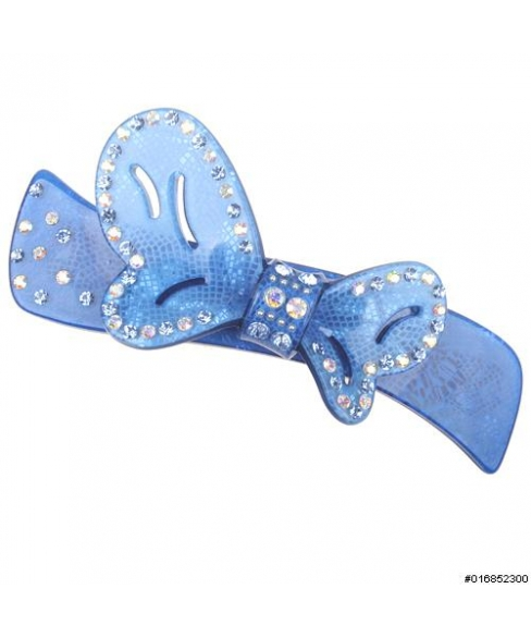Crystal Graphic Butterfly Barrette (Clip Paris)