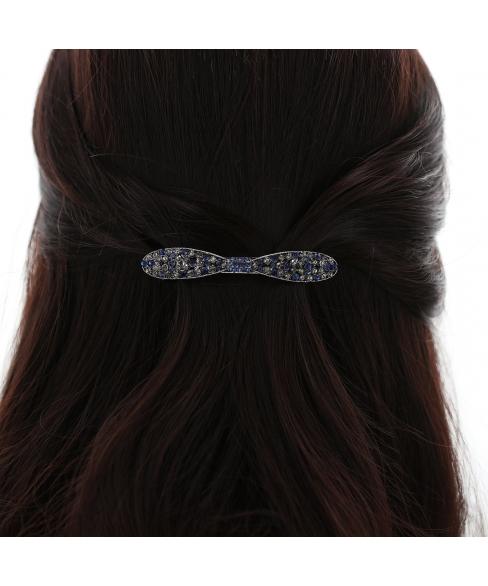 Crystal Rhinestone Bow Barrette/Hair Clip