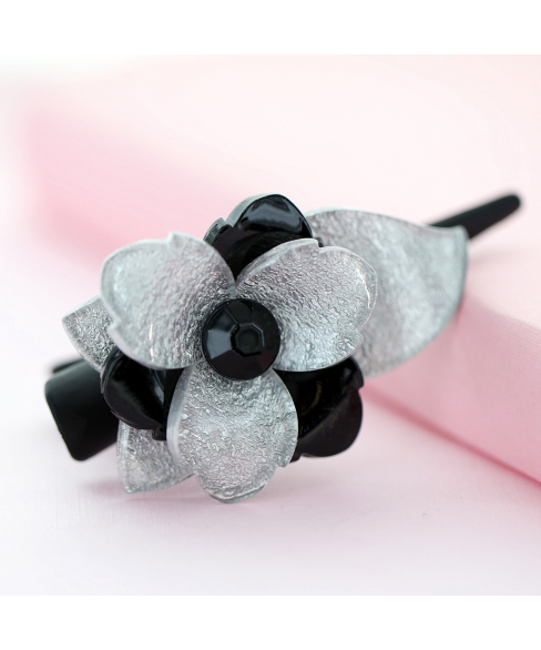 Acrylic Flower Pinch Clip
