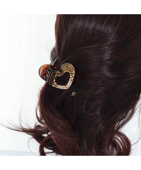 Heart Crystal Classic Hair Jaw