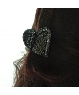 Heart shape Crystal Hair Jaw