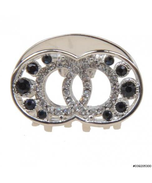 Crystal Twin Circle Mini Jaw