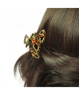 Sparkling Cubiczirconia Hair Jaw