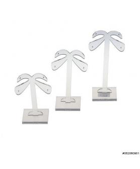 Small 3PCS Plastic Earring Display