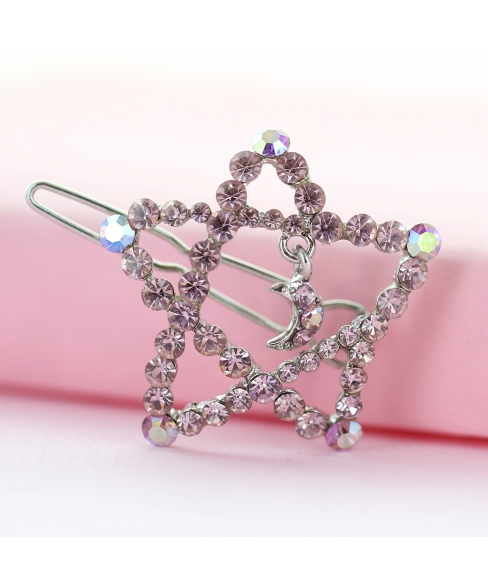 Crystal Star Barrette