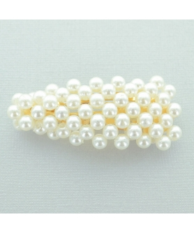 Handcraft Faux Pearl Snap Clip