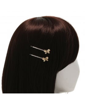 Crystal Butterfly Bobby Pin (2-Pack)