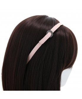 Crystal Deco Satin Headband