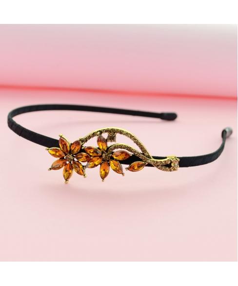 Crystal Flower Headband