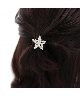 Australian Crystal-Embellished Star Hair Tie