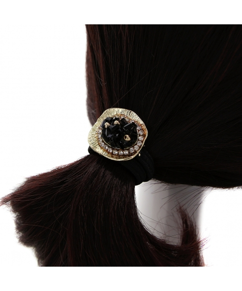 Crystal Embellished Ponytail Holder