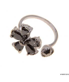 Glamorous CubicZirconia Flower Ring