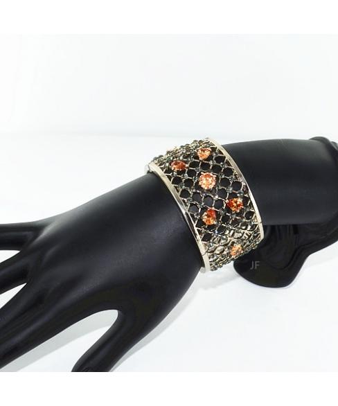 Glittering Cubic Zirconia Bangle