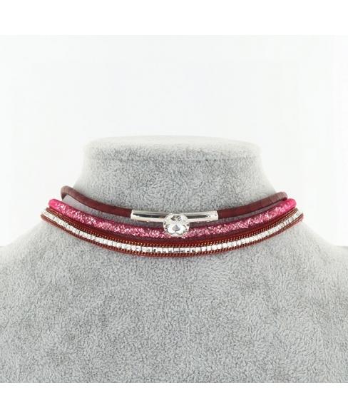 Sparkling Crystal Double Wrap Bracelet