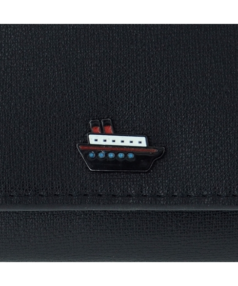 Little Boat Vegan Lether Textured Wallet