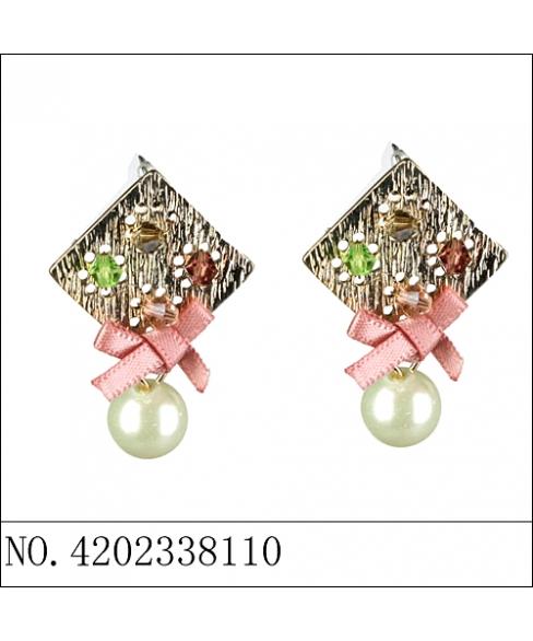 Fashion Crystal& Pearl Earring