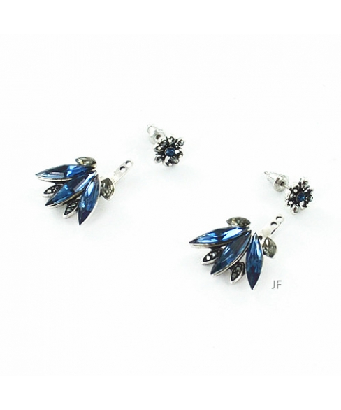 Crystal Pierced Earring Jackets