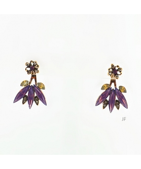 Crystal Pierced Earring Jackets