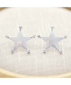 Crystal Deco Star Earring