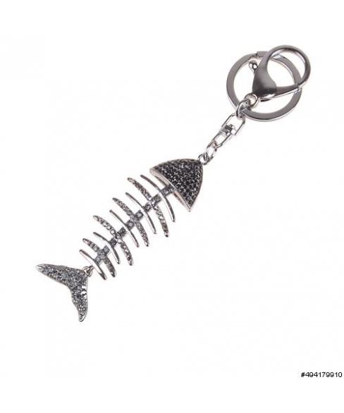 Fish Bone Key Chain