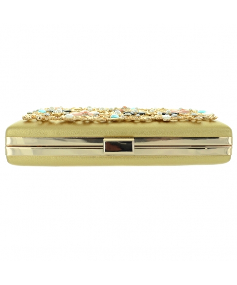Relief Crystal Deco Recta, Gold