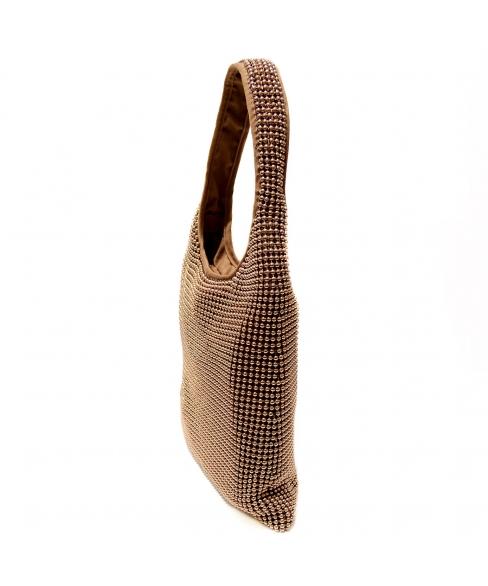 Metropolitan Mesh Shoulder Bag