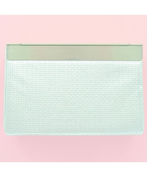 Metallic Frame Clutch