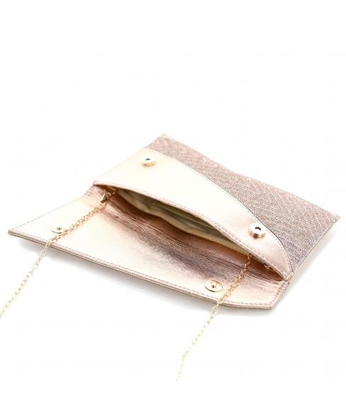 Rhinestone Envelope Clutch
