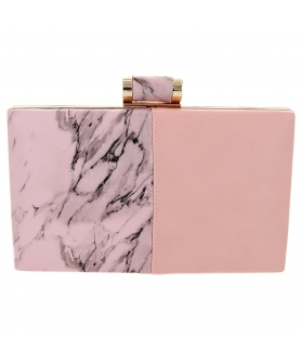 Marble Patchwork Clutch