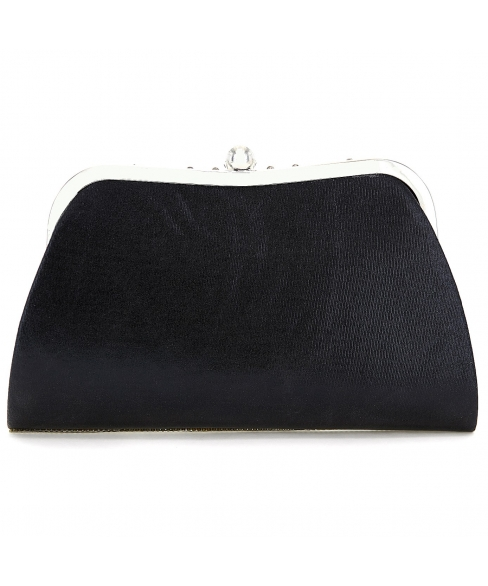 Rhinestone Embellished Evening Clutch