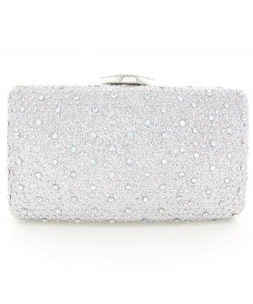Glitter Crystal Rhinestone Evening Clutch
