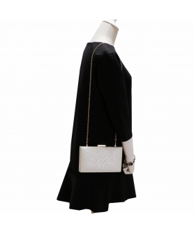 Women Faux Leather Clutch Bag