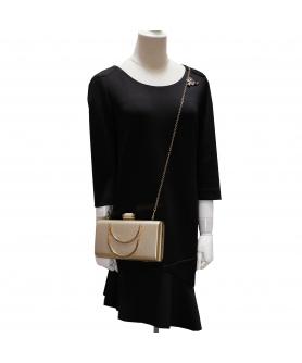 Women Box Frame Clutch/Evening Bag