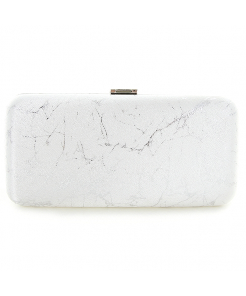 Marble Printed Clutch