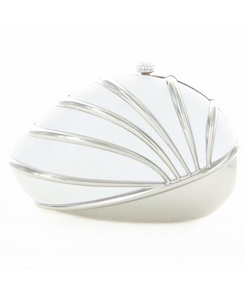 Glitter Nautilus Sea Shell Clutch Bag