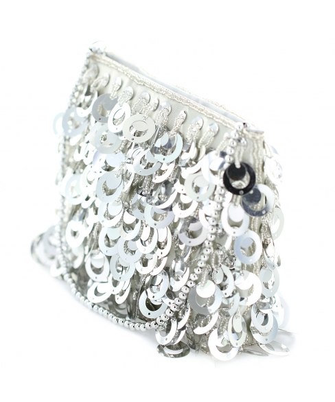 Sequin Clutch Bag