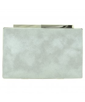 Metallic Box Clutch