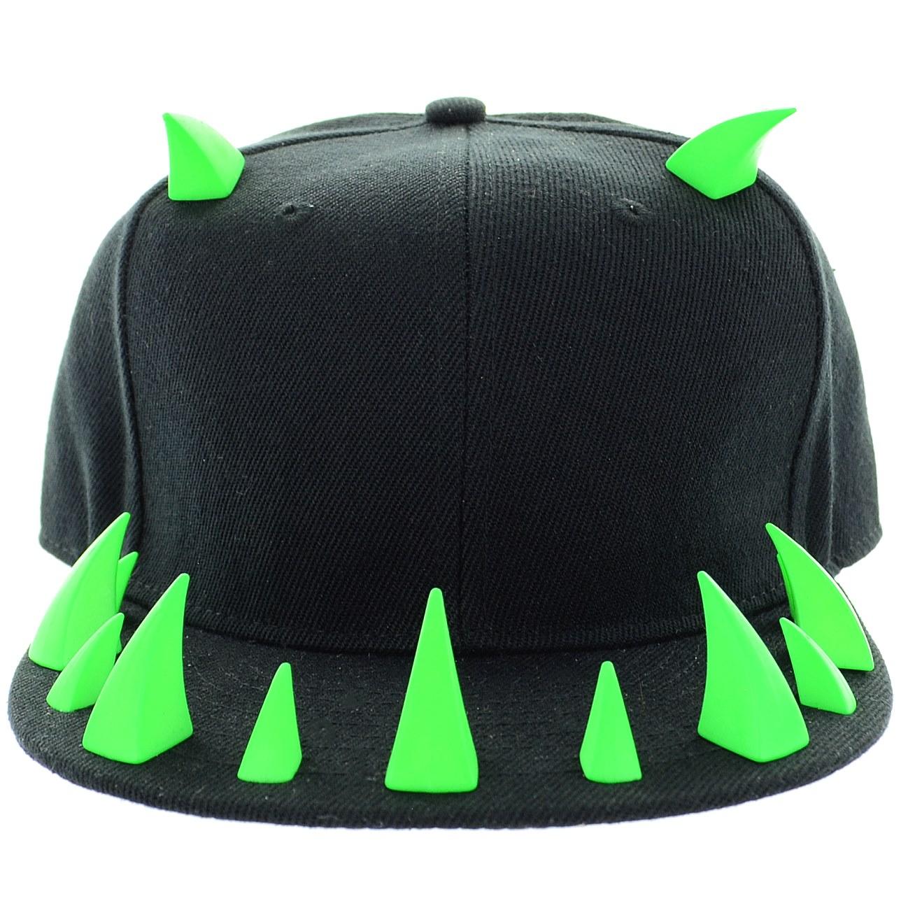 fa8c3d4cdbfe1 ... Unsex Neon Horn Baseball Cap ...